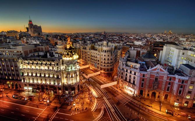 Madrid: bandar yang tidak pernah tidur