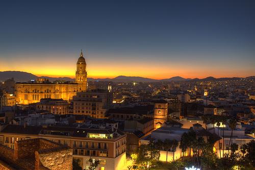 Málaga: artă pe toate cele patru părți