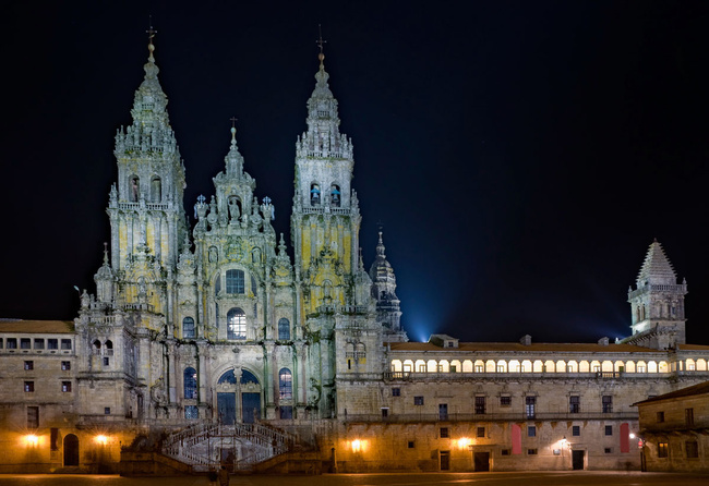 Santiago de Compostela: di mana malam itu kekal