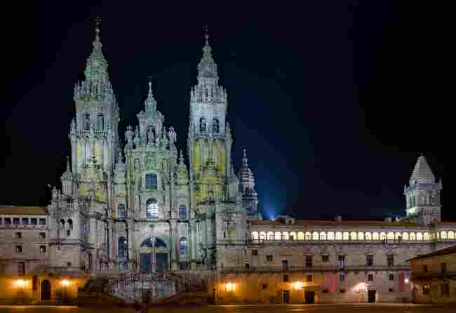 Santiago de Compostela: donde la noche es eterna