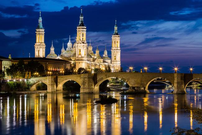 Zaragoza: la noche más romántica