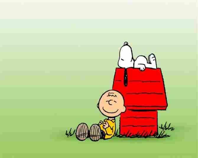 Charlie Brown dan Snoopy