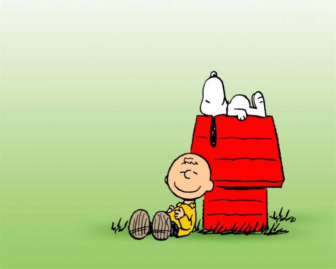 Charlie Brown och Snoopy