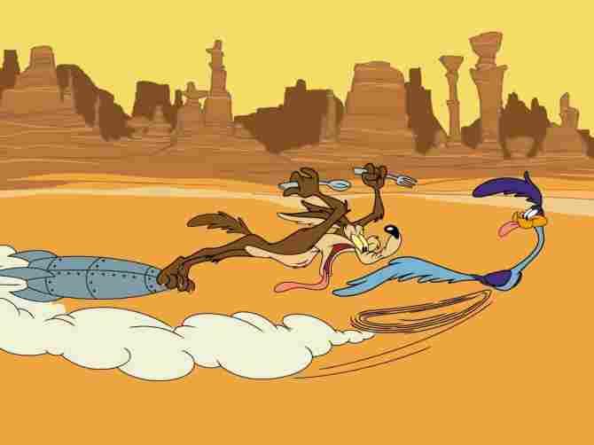 El Coyote y Correcaminos