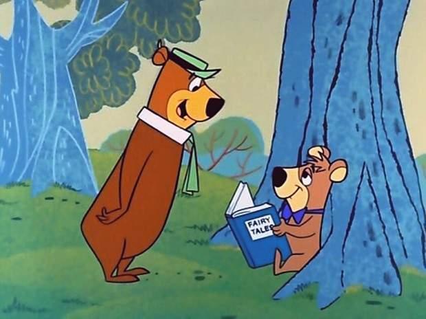 El oso Yogui y Boo boo