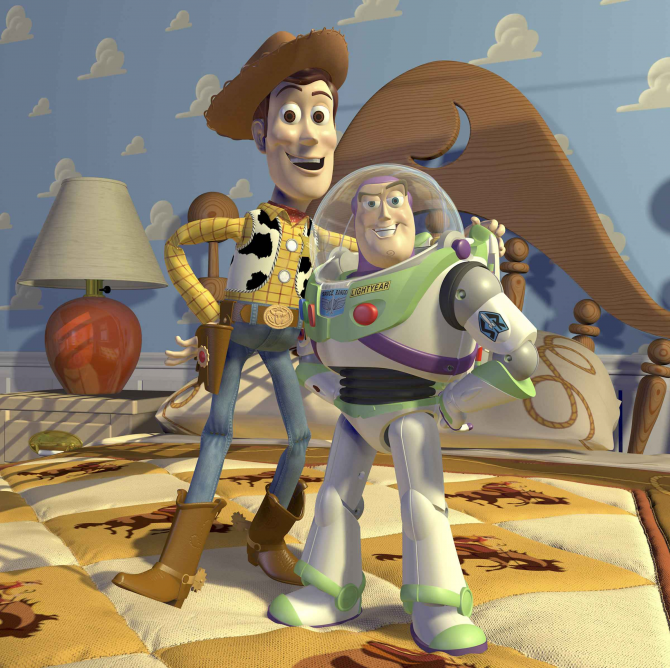 Gỗ và Buzz Lightyear