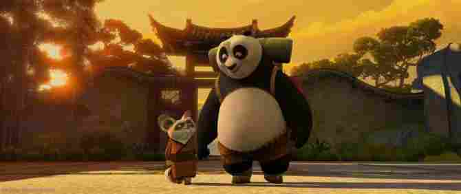 Kung Fu Panda and Master Teacher
