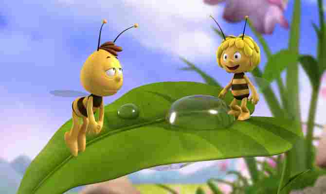 La abeja Maya y Willy