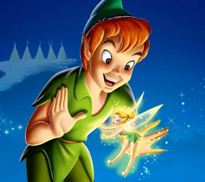 Peter Pan och Tinker Bell