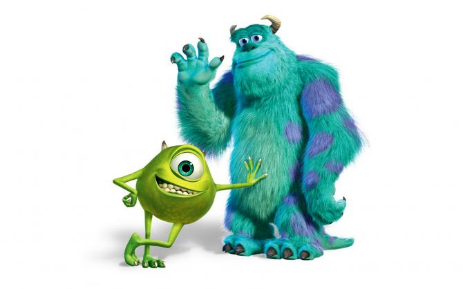 Sullivan och Mike Wazowski