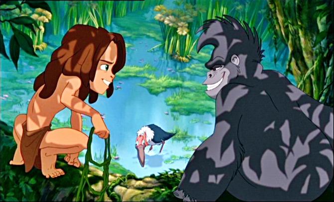 Tarzan dan Terk