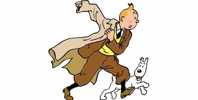Tintin and Milú