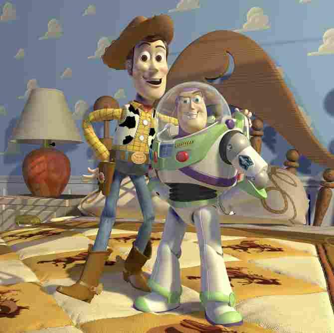 Woody dan Buzz Lightyear