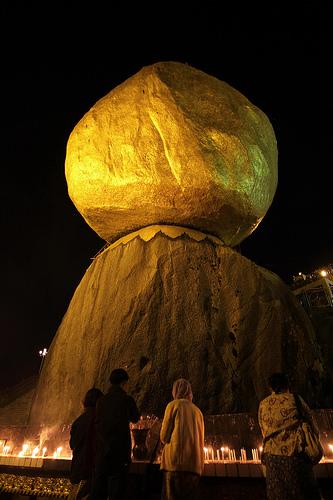 The Golden Rock (Burma)