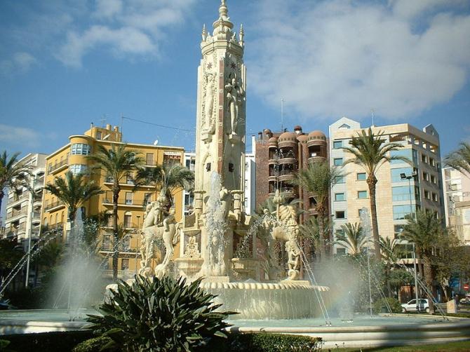 Плаза де лос Лусерос (Аликанте)