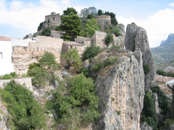 Château du roi à Guadalest