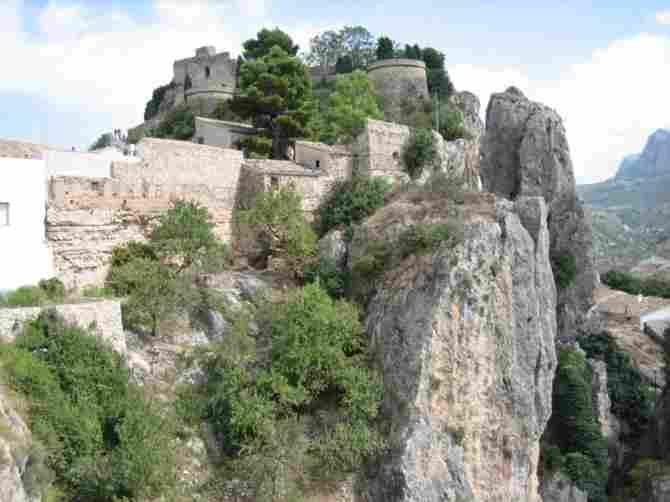 King's Castle in Guadalest