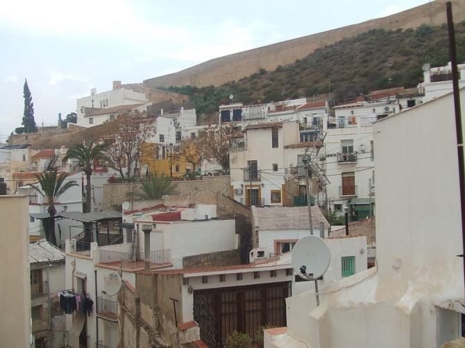 Quartier de Sta Cruz (Alicante)