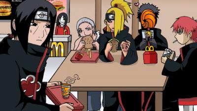 Любимые блюда персонажей Наруто