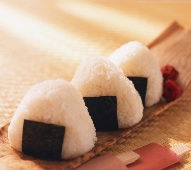 Omusubi - o favorito de Itachi e Sasuke