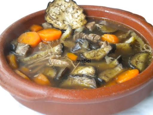 Sopa de berinjela - a favorita de Kakashi
