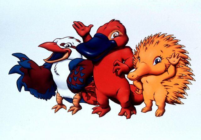 Олли, Сид и Милли - Сидней 2000