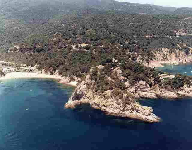 Cala Giverola deTossa del Mar (Girona)
