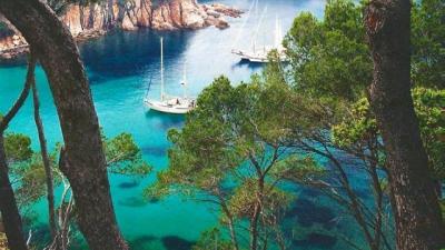 Pantai terbaik di Catalonia