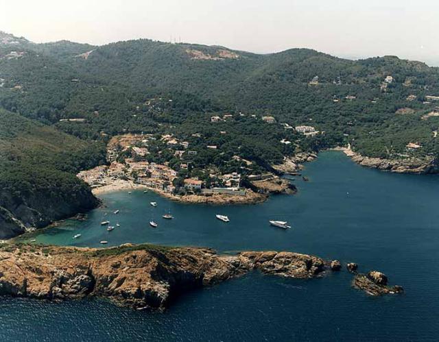 Plaja din Sa Tuna de Begur (Girona)