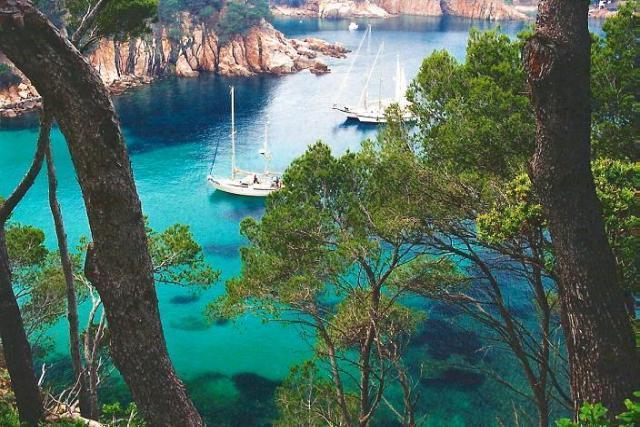 Playa de Aiguablava de Begur (Girona)