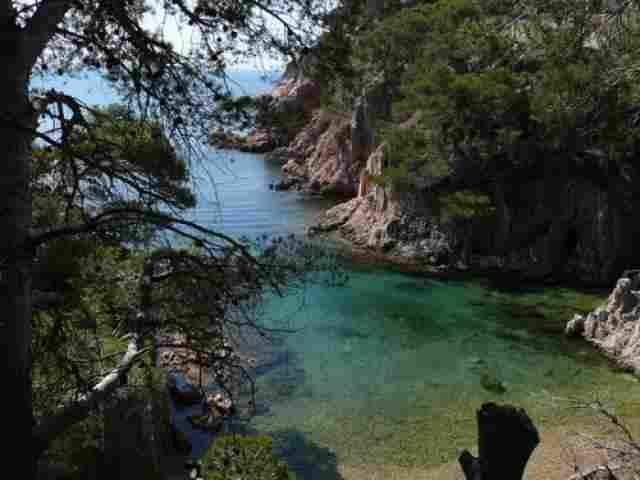 Praia Aigua Xelida de Tamariu (Girona)