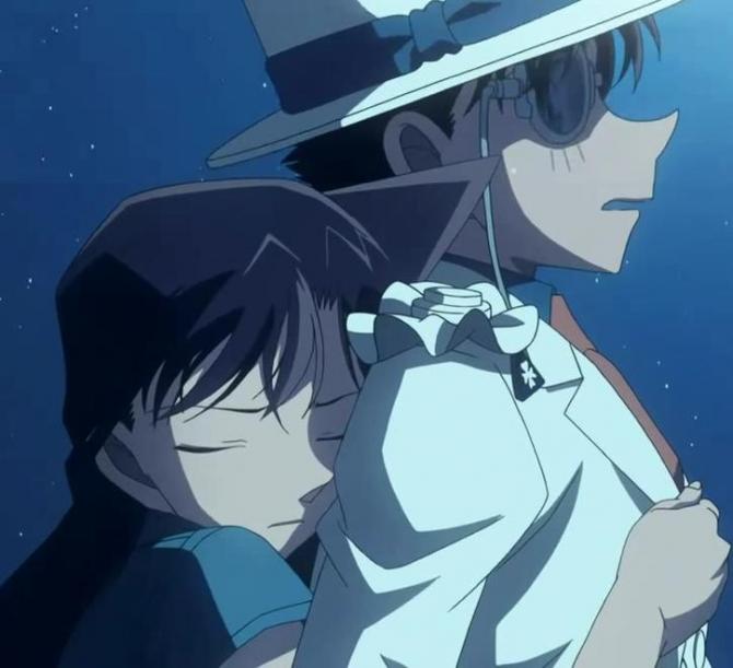 Kaito Kid & Ran Mouri