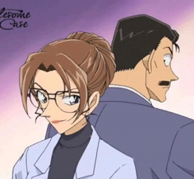 Kogoro Mouri & Eri Kisaki