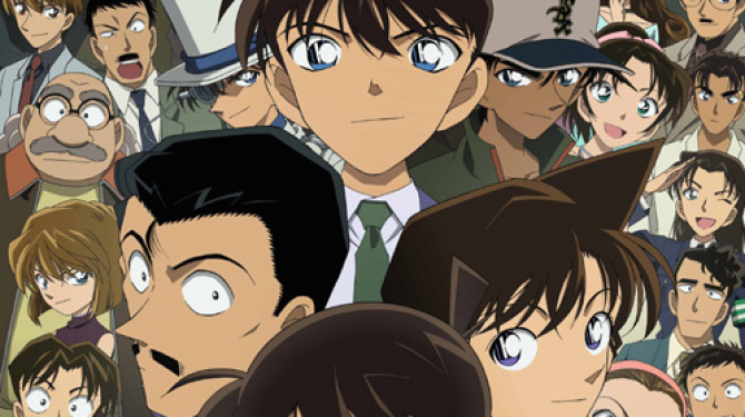 The best couples of the anime Detective Conan
