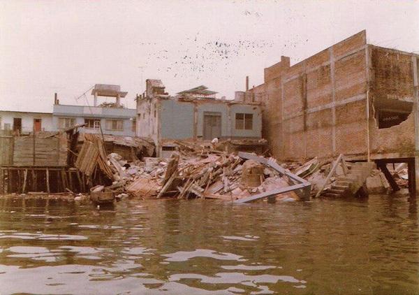Землетрясение и цунами в Тумако, 1979 г.