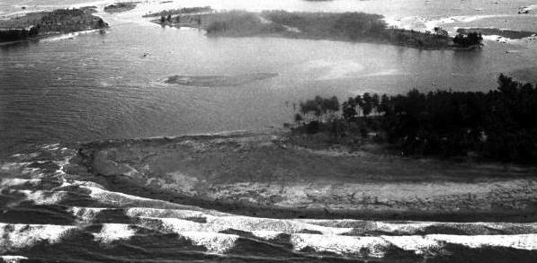 Le séisme et le tsunami en Papouasie Nouvelle Guinée, 1998.