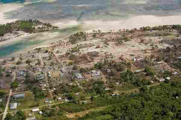 Le tremblement de terre et le tsunami de Samoa, 2009.