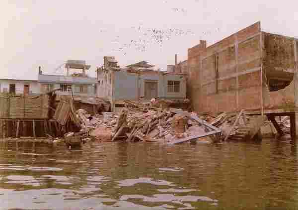 Le tremblement de terre et le tsunami de Tumaco, 1979.