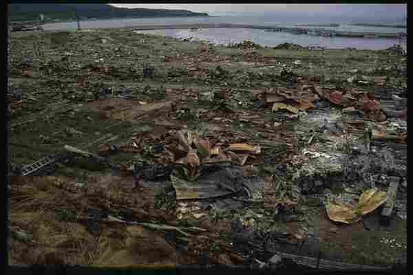 Tremblement de terre et tsunami de Hokkaido, 1993.