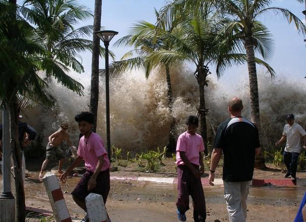 Tremblement de terre et tsunami de l'océan Indien, 2004.