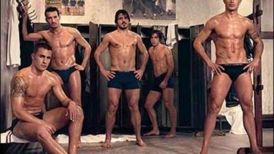 De meest knappe en sexy voetballers
