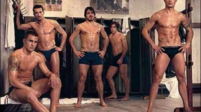 The most handsome and sexy footballers