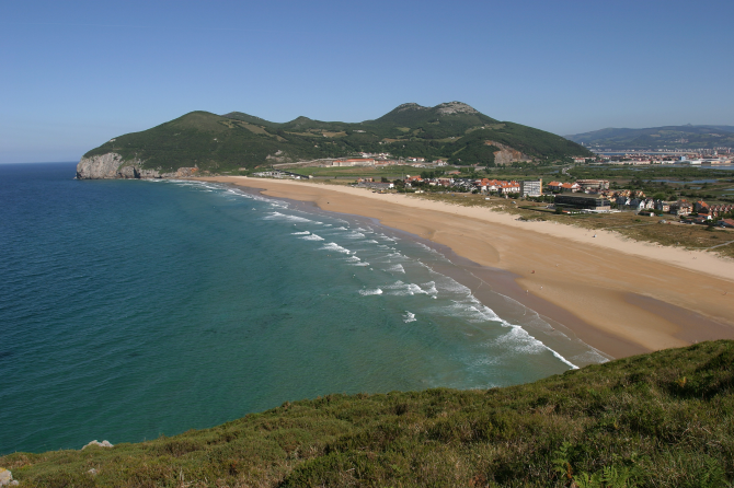 Playa de Berria (Santoña)