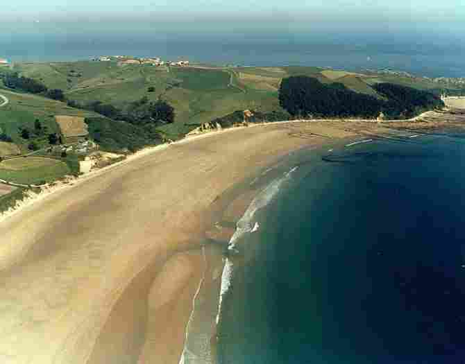 Playa de Oyambre (Valdáliga)