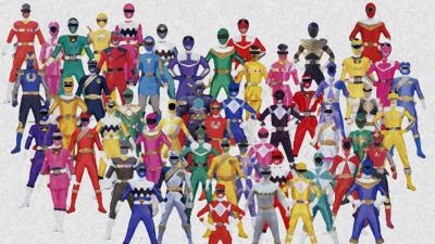 Kostum Power Rangers terbaik