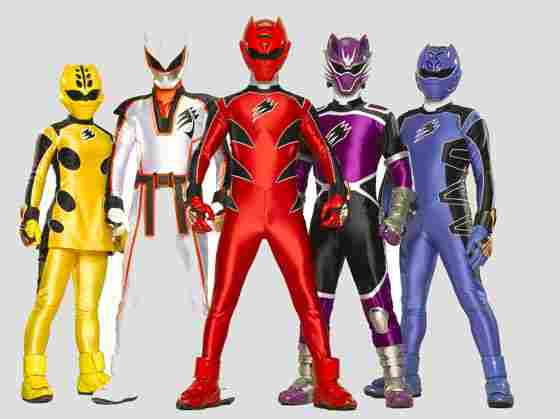 POWER RANGERS ANIMAL FURY