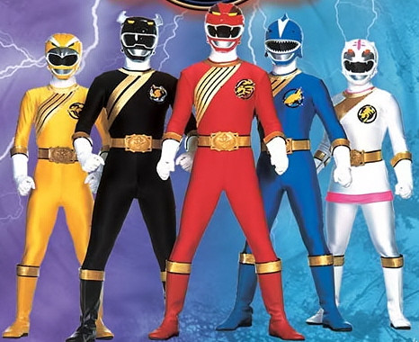 POWER RANGERS FORCE SELVAGEM