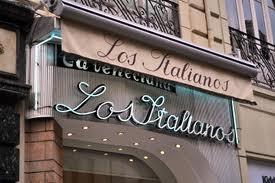 Лос-итальянский магазин мороженого - Гранада.
