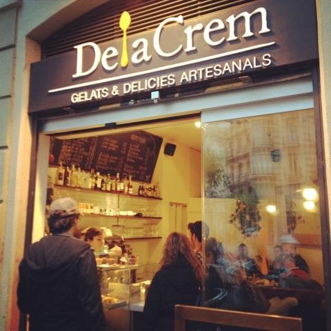 Делакрем - Барселона.