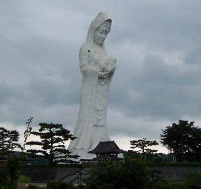 Aizu Jibo Dai-Kannon från Aizuwakamatsu